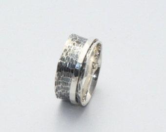 Wedding Ring ,Sterling Silver Ring, Silver Spinning Ring, Meditation Ring, Spinner Ring,Silver Spinner Rings, Women Rings , Christmas gift