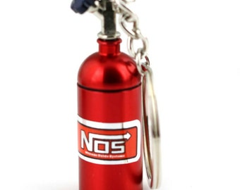 Fast and Furious NOS Keychain