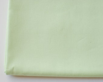 mint solid fabric | Sweet Mint | Pure Elements Solids by Art Gallery Fabrics green, luxurious fabric by the yard