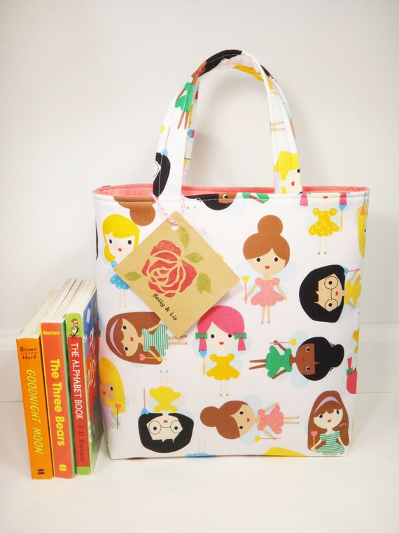 Fairy Tote Bag, Girls Bag, Toddler Tote Bag, Girls Tote Bag, Toddler Purse, Little Girls Purse, Fairy Purse, Kids Tote Bag