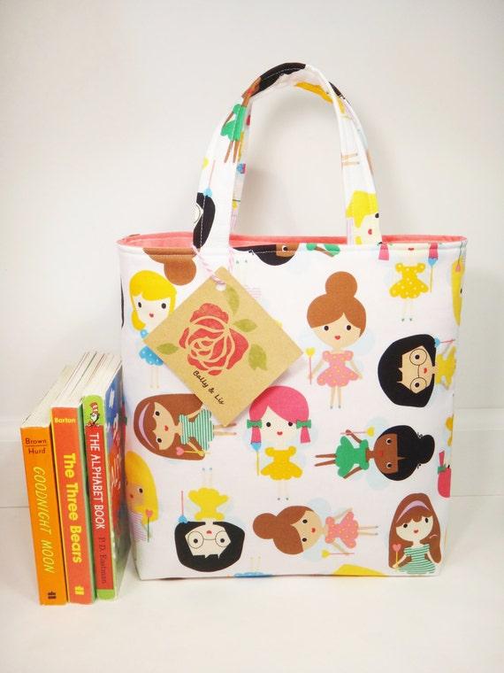 Fairy Tote Bag, Girls Bag, Toddler Tote Bag, Girls Tote Bag, Toddler Purse, Little Girls Purse, Fairy Purse, Kids Tote Bag
