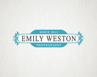 Photography logo, Vintage Logo, Pre-made logo design, Premade business logo design, Photography logo and watermark