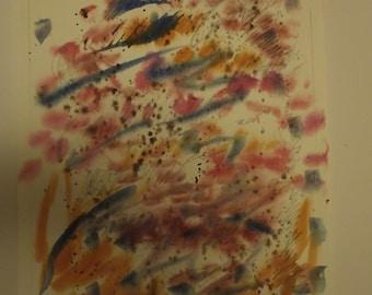 Transformations 8, original, watercolor, painting