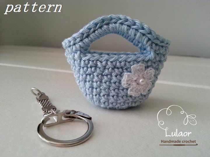 Crochet Purse Keychain Pattern : Crochet keychain pattern Instant download pattern Crochet