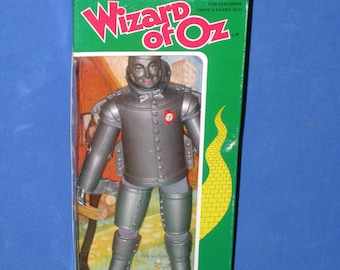 1974 MEGO Wizard of Oz Tin Woodsman (The Tin Man) Action Figure Doll in Original Box