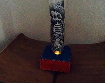 SALE!!!! Dia de Los Muertos (Day of the Dead) Posada's Boracho night light