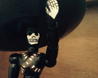 Price Reduced to Sell SALE!!! Dia de Los Muertos (Day of the Dead) Revolutionary Mariachi Charro Action Figure