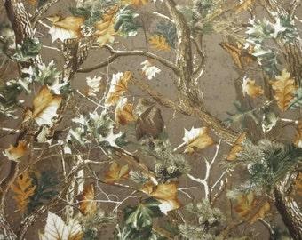 Woodforest Fantasy by Choice Fabrics-Yardage-Trees, Leaves, Pinecones