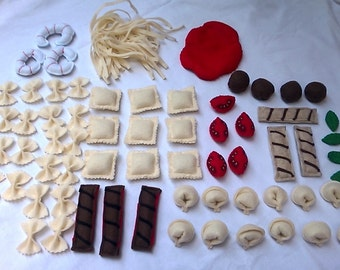 Ultimate Felt Pasta Set