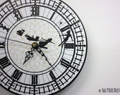 Peter Pan Big Ben Wall Clock