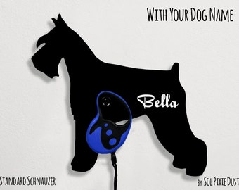 Standard dog collar etsy for Garderobe stander
