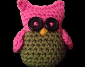 PDF Crochet Owl Pattern