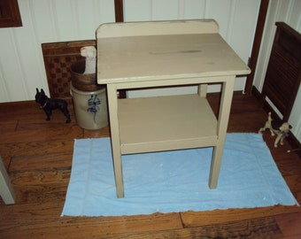 Handmade Primitive Washstand in Your Choice of Color and Finish with Free Shipping