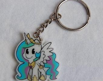 Princess Celestia Keychain