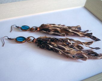 Summer cloth earring