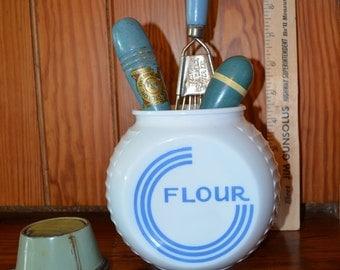 Vintage Flour Container