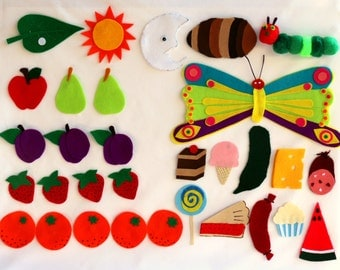 The Very Hungry Caterpillar Felt Set