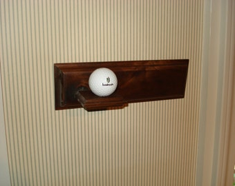 Hole-in-One Golf Ball Plaque