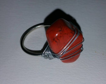 Red Carnelian Ring