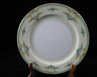 "Vintage Noritake China Plaza Pattern 10"" Dinner Plate~Japan"