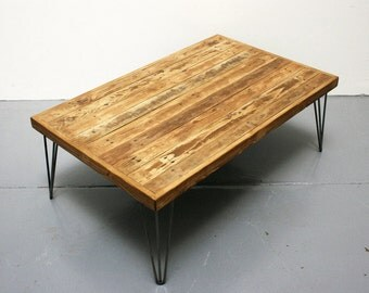 Reclaimed Pallet Wood Coffee Table - Pallet Wood Coffee Table - Pallet Coffee Table - Reclaimed Wood Coffee Table