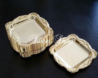 Mini Gold Tray/Platter