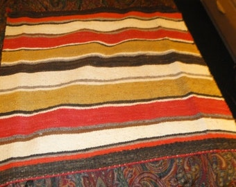 Vintage Hand Woven Blanket/Wall Hanging