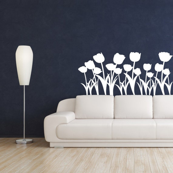 tulip border wall stickers - photo #30