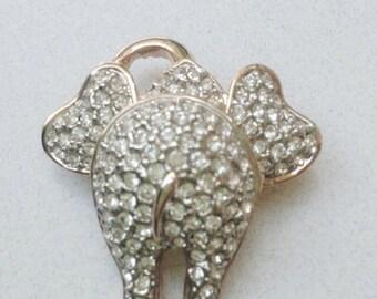 """Elephant """"Be-hind"""" Broach          Christmas Gift Idea"""