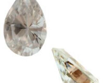 10x7mm Pear Cubic Zirconia (50pcs)
