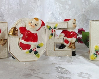 50s Lipper & Mann Christmas NOEL Figurines – Pure Nostalgia and Adorable!