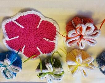 Handmade Crochet Trivets/Hot Pads
