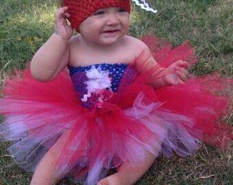 Toddler patriotic tutu