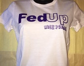 FedUp with Perm Fitted Tee, when you get fed up express your feelings about those filthy chemicals with this cool tee,