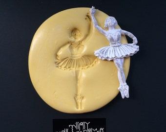 Ballerina Silicone Mold #2