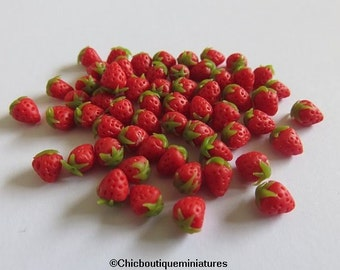 Dolls House Miniature Strawberries---SOLD OUT----