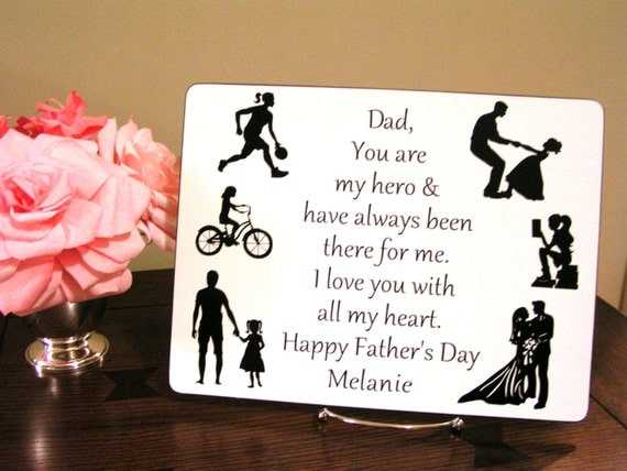 Personalized Father's Day Gift Gift for Dad from