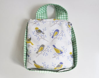Baby carrier Bag and Storage - Ergo, Boba, Tula, Beco, Manduca and more - Babywearing accessories - Birds