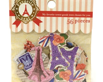 Stickers Assorted Pack ST90211 Eiffel Towers