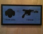 """Star Wars """"I love yo..."""