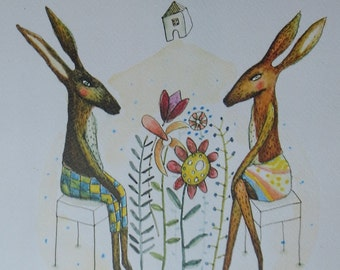 Small Talk about Spring, Art print