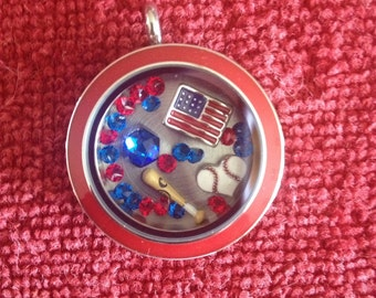 Baseball Lover's Locket
