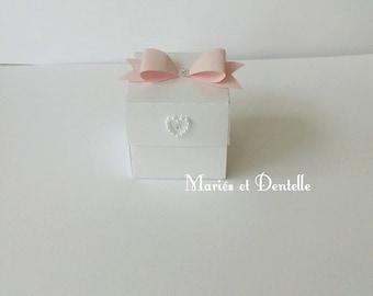 Bonbonniere chic and romantic wedding (wedding favor)