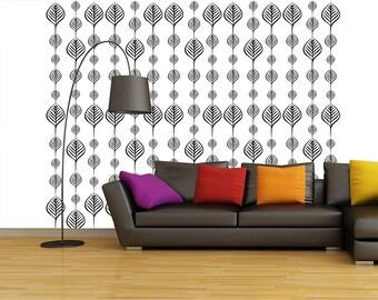Leaf  self Adhesive Wallpaper D52