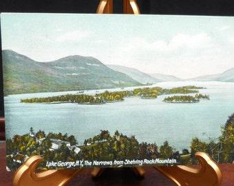 Antique Lake George Postcard, ca. 1907.