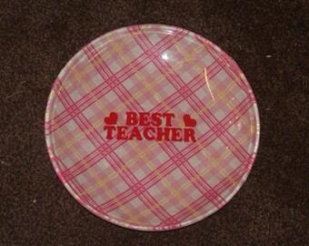 New item ! Best Teacher Plate for your favourite teacher