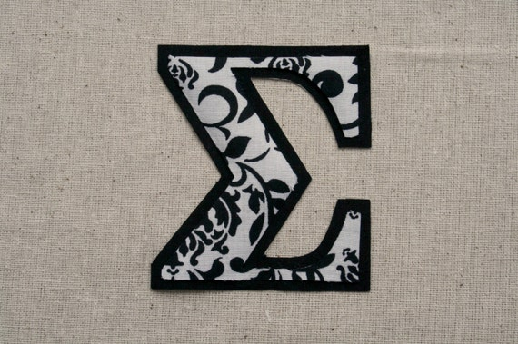 iron on greek letters individual letters custom iron on and sew letters 14070 | il 570xN.774392792 tw9b