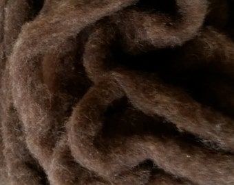 Naturally Colored Fine Wool Rambouillet Roving - 8oz