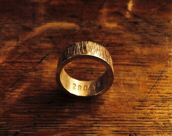 Chunky barked ring