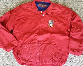 1980's Vintage Ralph Lauren Chaps Button up Jacket. Size Large.
